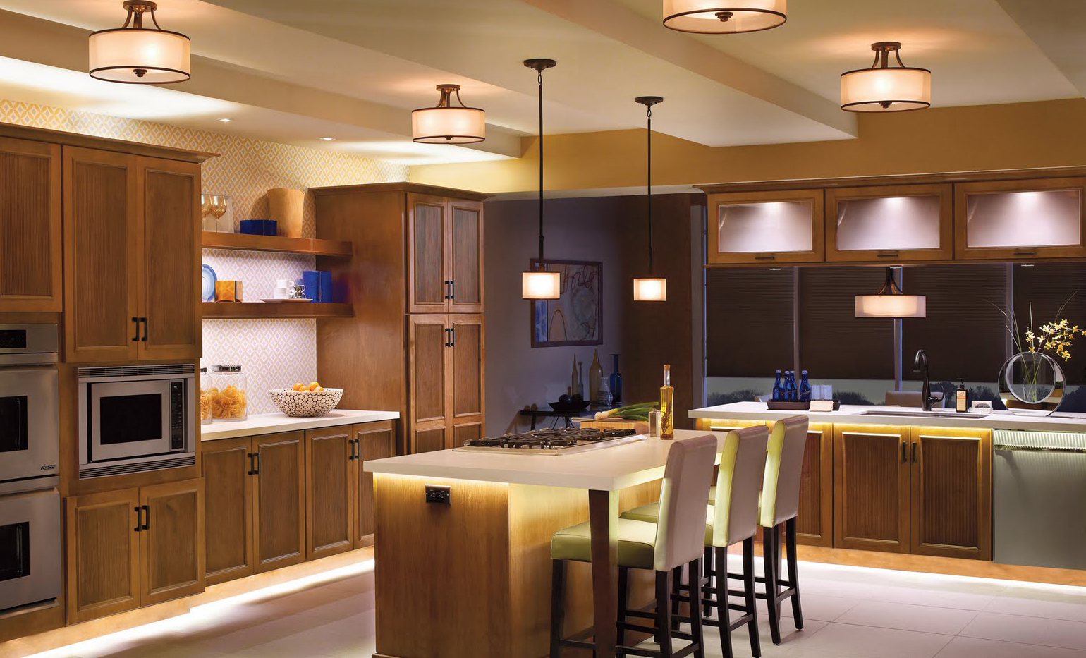 Understanding Kitchen Ceiling Lights - Home Decor by Lulu